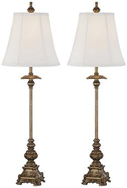 Juliette Gold Buffet Table Lamp Set of 2