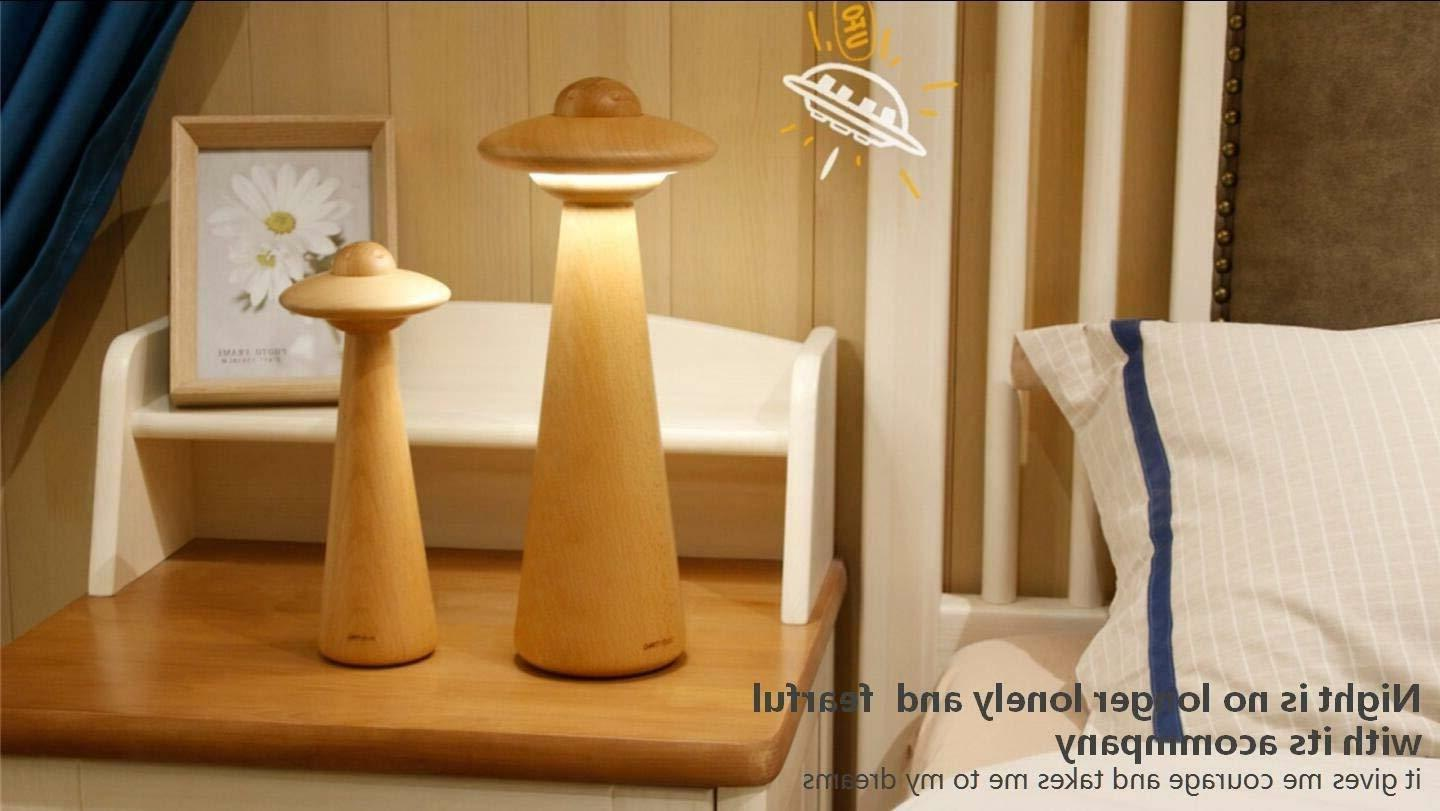 """10"""" UFO Dimmable Table Night"""