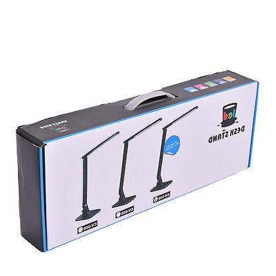 27 Dimmable Table Lamp Touch Rotatable 180° Reading USB