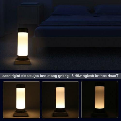 USB LED Night Touch Table Desk Lamp Reading Bedroom