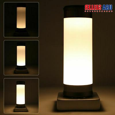 3modes touch table lamp desk bedside night