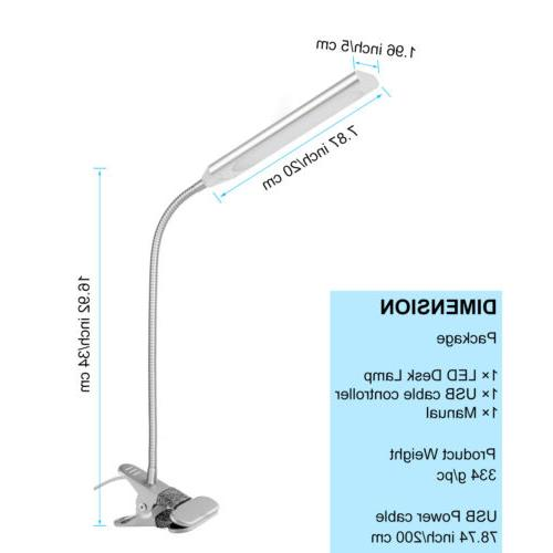 5W Flexible 48 Clip-On Reading Lamp
