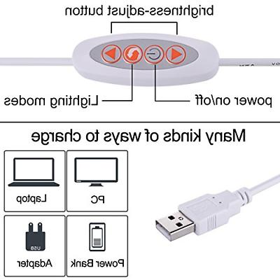 5W USB Clip-On Reading light Lamps