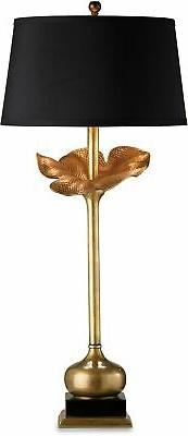 Currey and Company 6240 Metamorphosis Table Lamp with Black