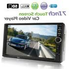 "7"" Double 2Din HD Auto Car Stereo MP5 MP3 Player Bluetooth R"