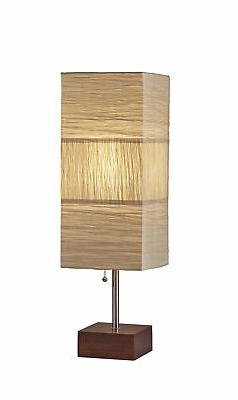 "Adesso 8026-15 Brushed Steel Sahara Single Light 26"" Tall Co"