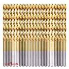 "9/32"" High Speed Steel Titanium Coated Twist Drill Bits for"