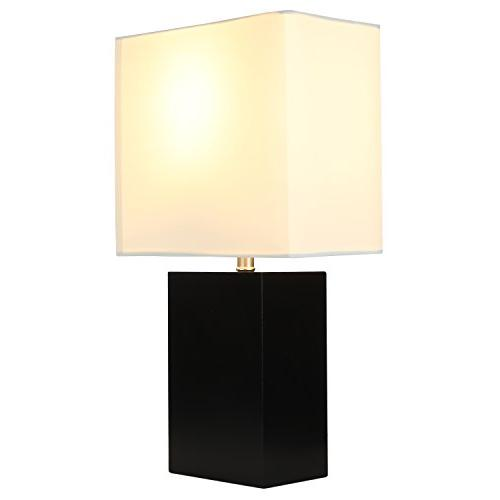 Brightech - Mode Table Genuine Wood Light Nightstands, Professional Offices, and