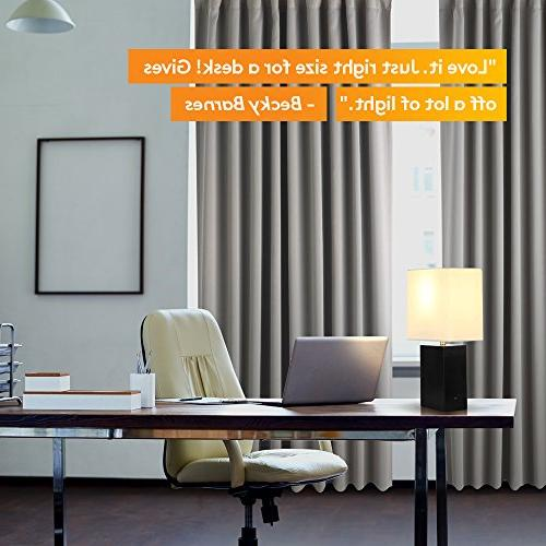 Brightech - Contemporary Table - Genuine Wood Relaxing Light Professional and More