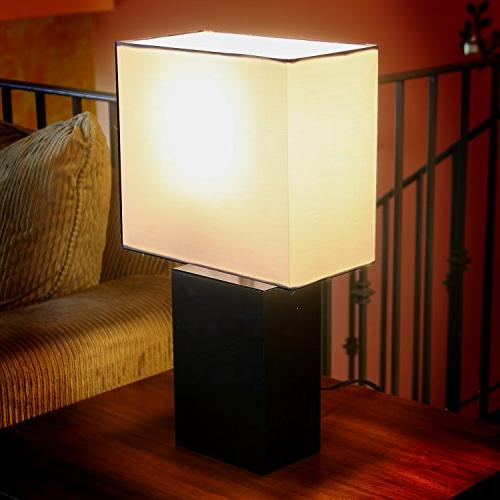 Brightech - Mode Contemporary Table Light Nightstands, Professional