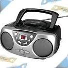 NEW SYLVANIA Portable CD/CD-R Player Boombox Stereo with AM/