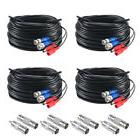 ZOSI BNC Cable 100ft Extension Video Power BNC RCA Connector
