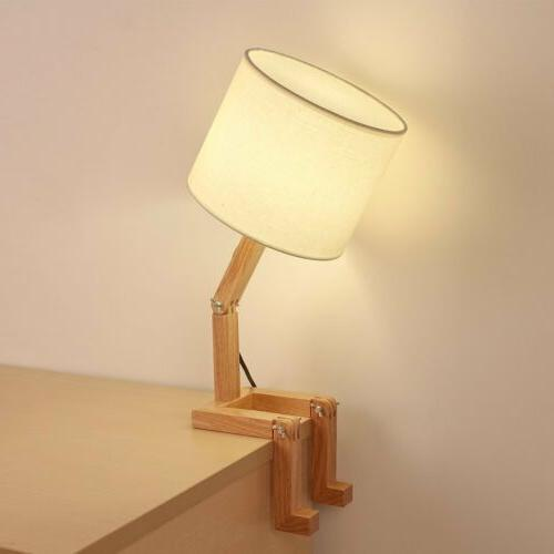 HAITRAL Adjustable Creative Lamp Shade Wood