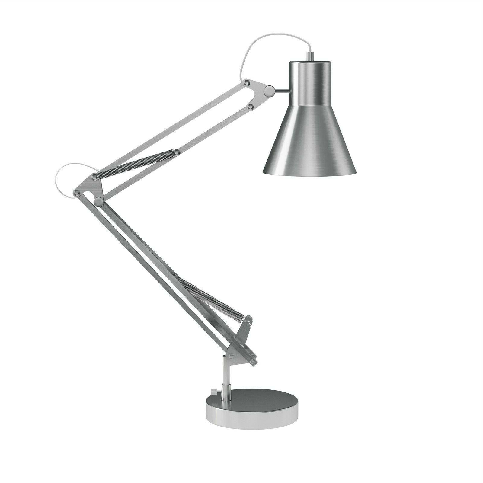 Architect Desk Lamp Adjustable Swing Arm Table Light Bright