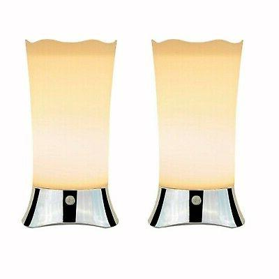 Cordless Battery Operated Lamps for Home Tables Bathroom Wit
