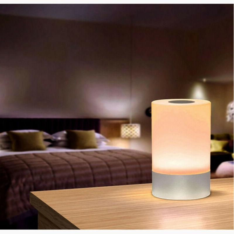 Dimmable Table Lamp Touch Sensor Lamp Bedside LED Night Ligh