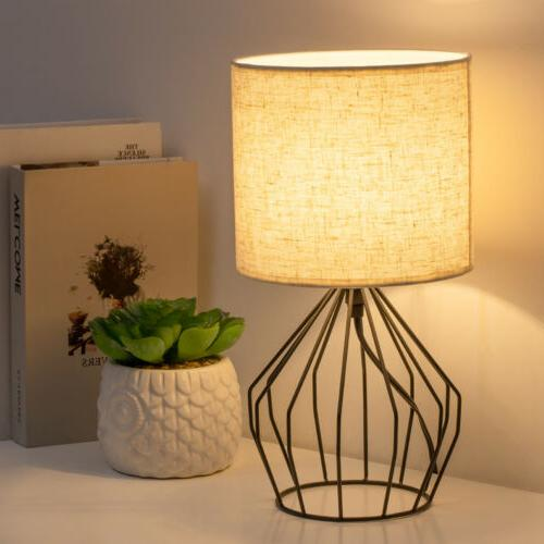 Bedside Lamps Pair Modern Style with