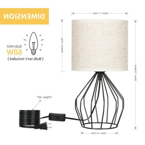 Lamps Modern with Linen Fabric