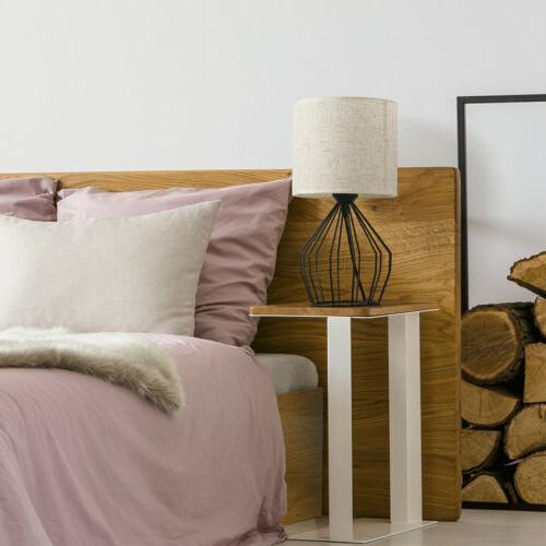 Bedside Lamp Nightstand Lamps Pair Modern with