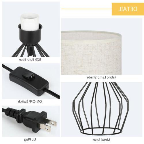 Bedside Table Lamps Modern with