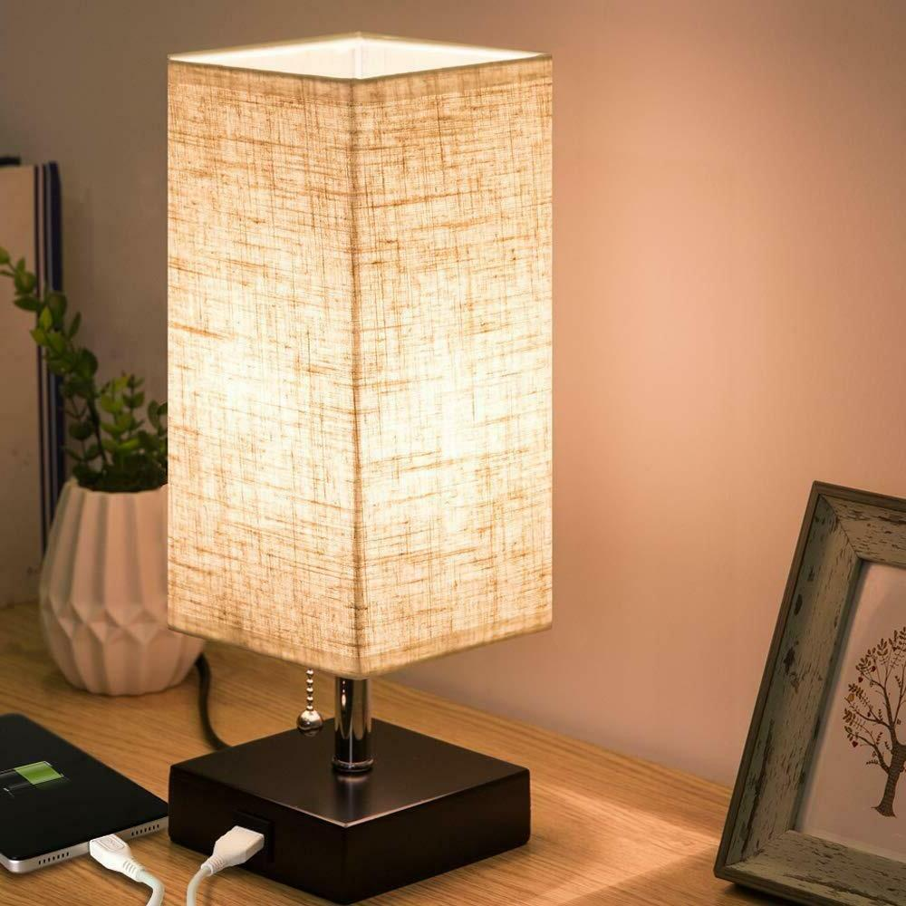 ZEEFO Lamp, Modern Lamps with 1 Charging