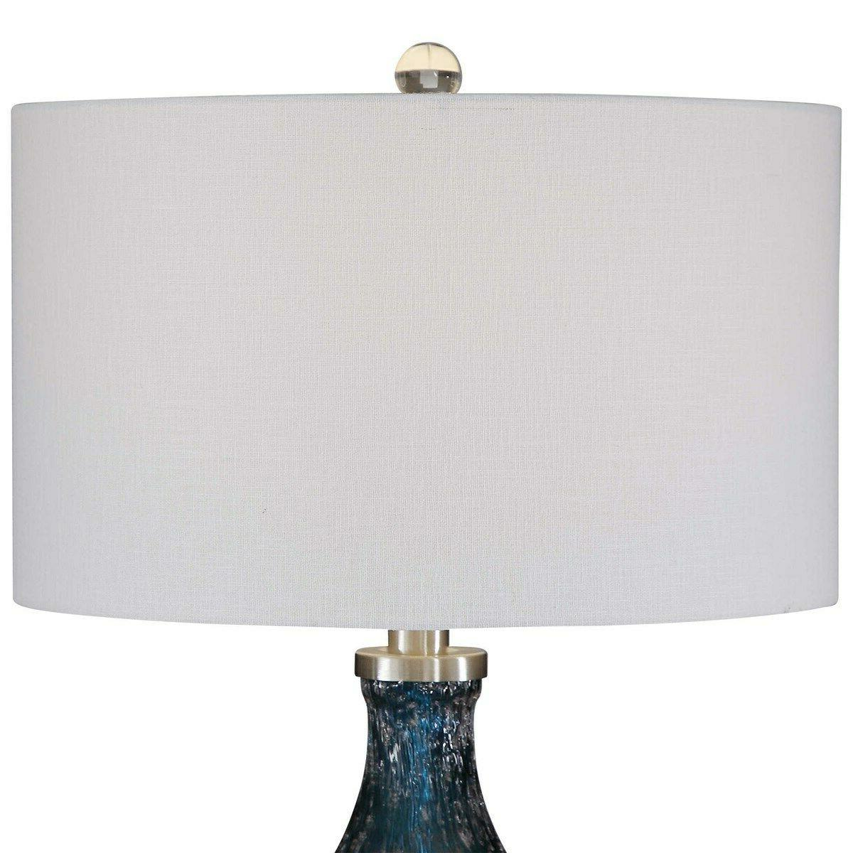 Glass Table Lamp Accents