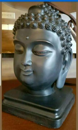 Buddha Table Lamp with Head