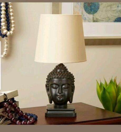buddha table lamp with head sculpture art