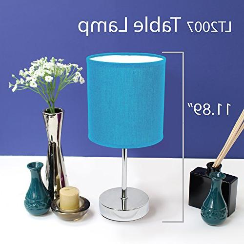 Basic Lamp with Fabric Shade
