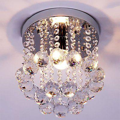 crystal chandeliers light mini style modern decor