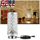 Crystal Table Reading Lamp Bedside Nightstand Desk Lamp for