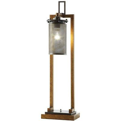 cvaer744sng gibson 36 inch table lamp portable