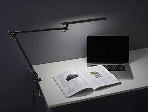 Phive Swing Arm Drafting Table with Black
