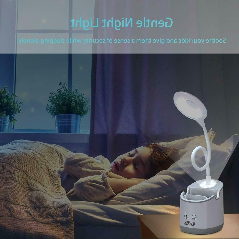 Desk Night LED USB Rechargeable