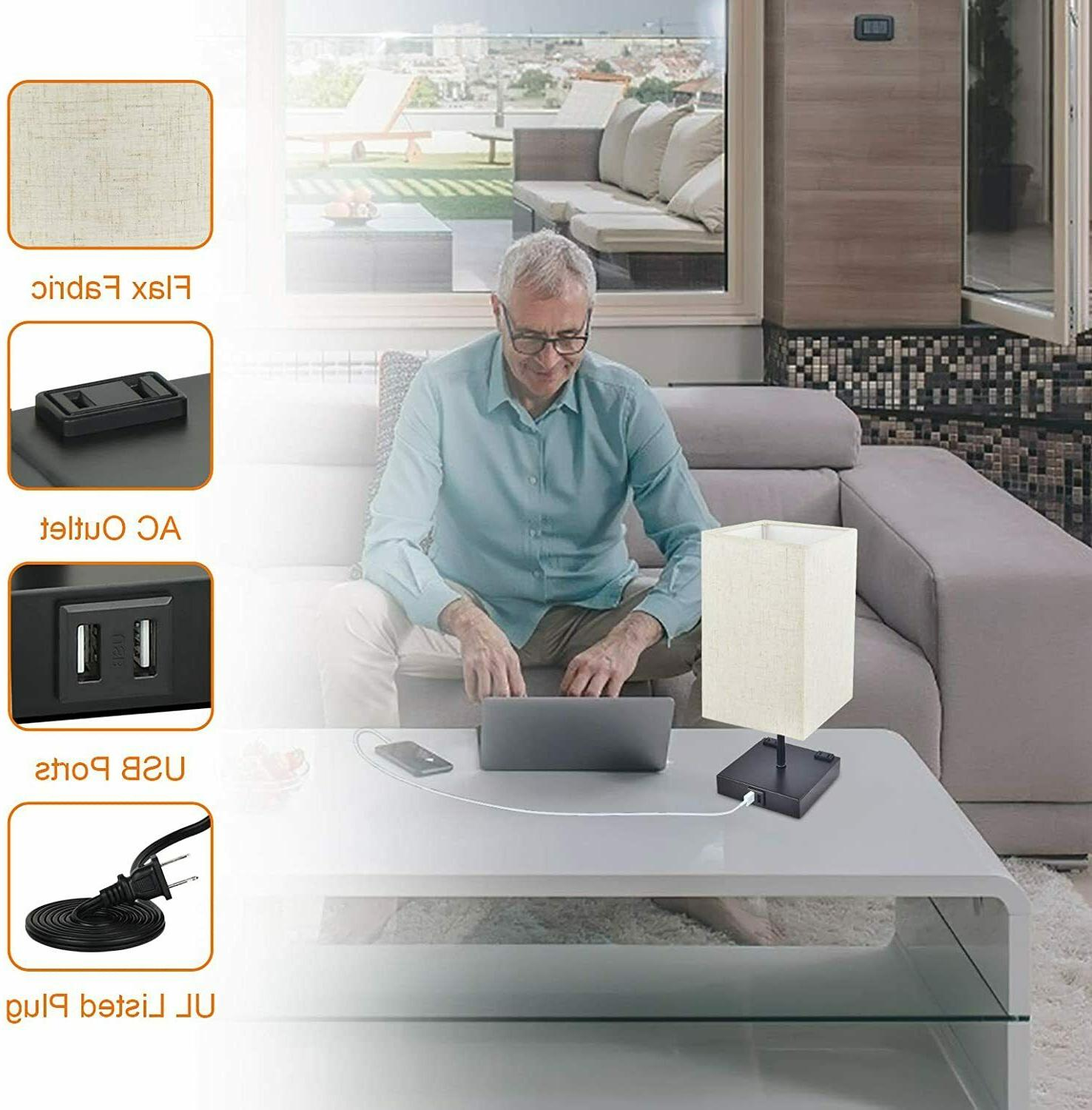 Dimmable Touch Bedside
