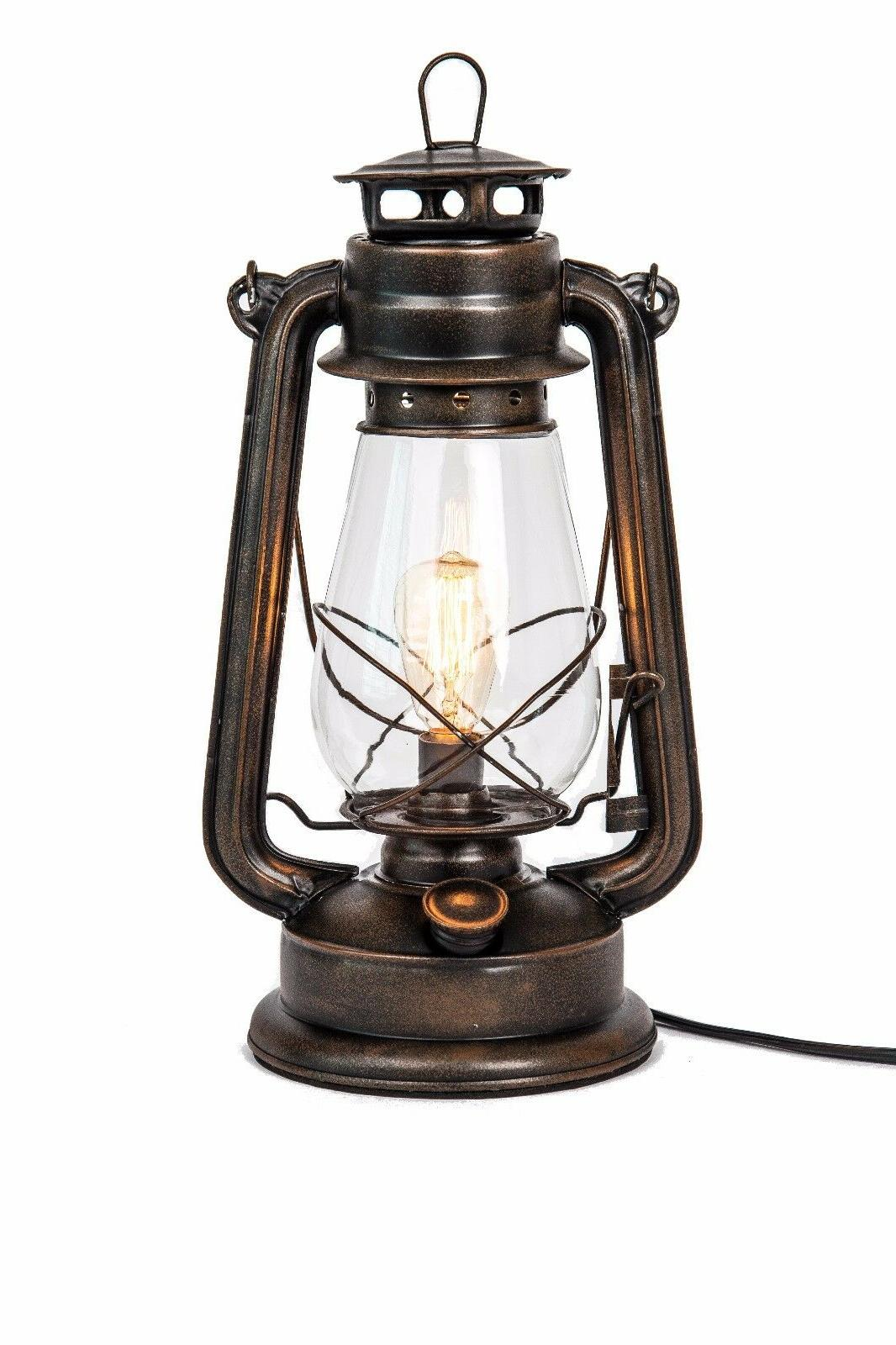 Lantern with Dimmable Rustic