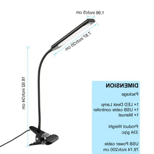Dimmable Desk Table Reading Lamp Light
