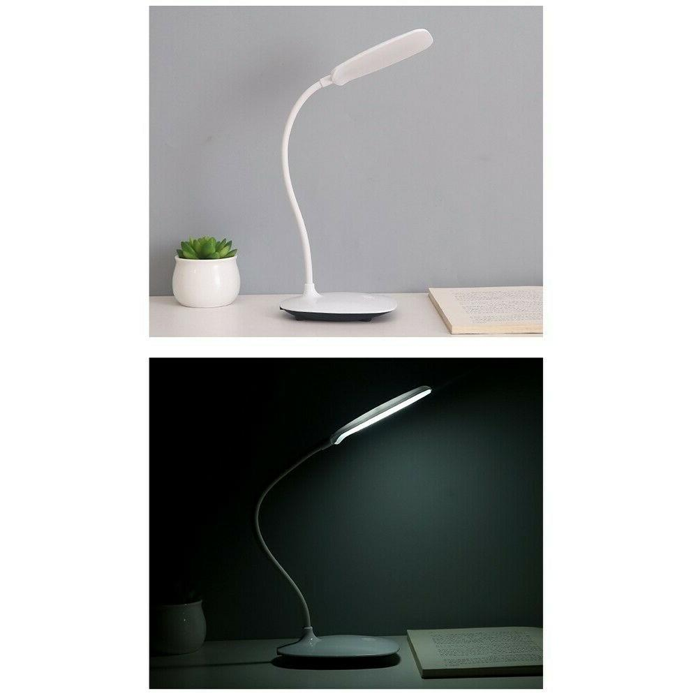 Dimmable Desk With Charging Table Office Home