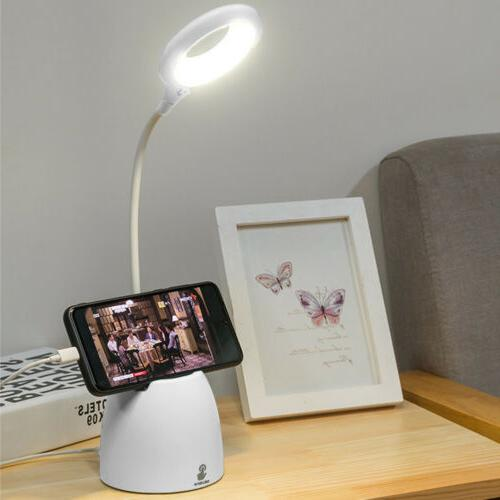 Dimmable Table Touch Rechargeable Port