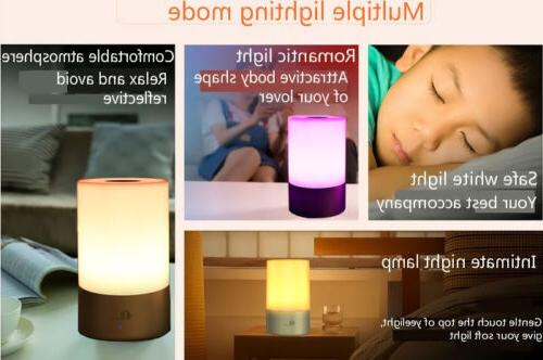 1byone Lamp Touch Modern LED Colors