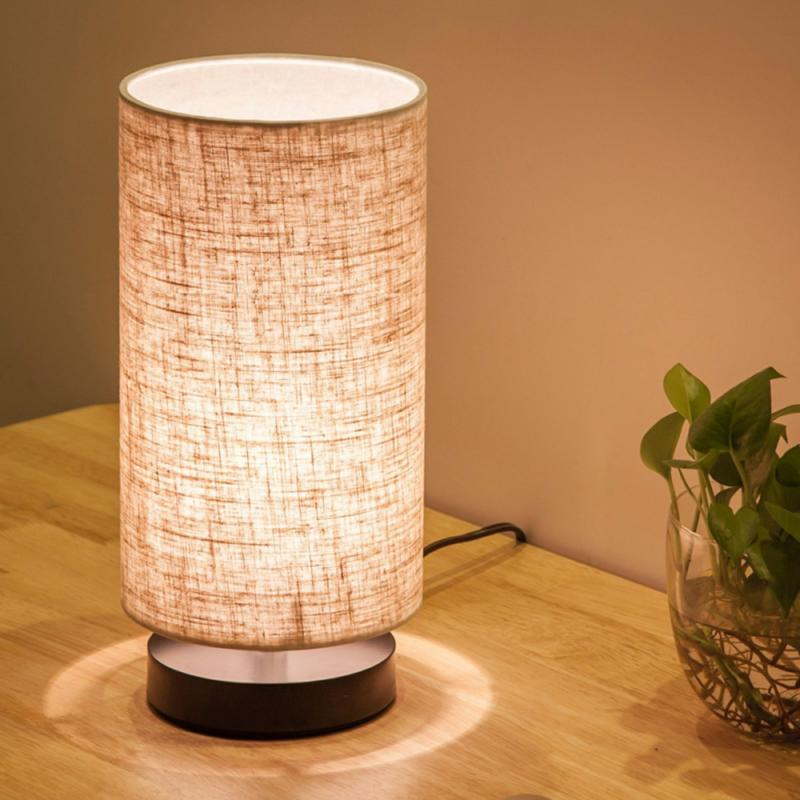 Energy-Saving Table Lamps Nightstand Lamp for Bedroom Living Office