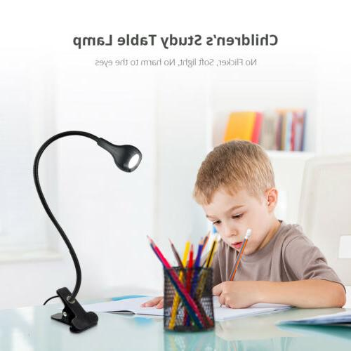 Flexible Table USB Desk Holder Bed Reading Book Feeding
