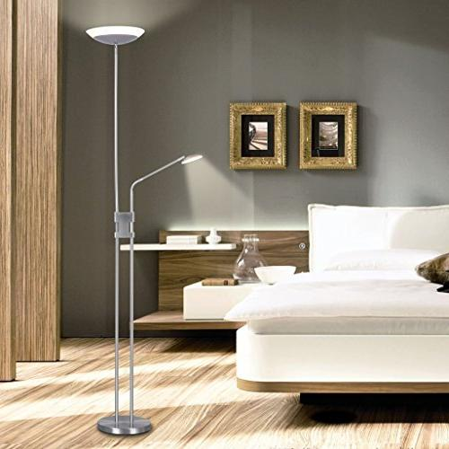 Finether Lamps Dimmable with Reading Silver