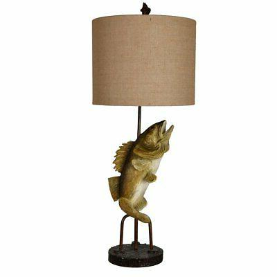 fly fish table lamp