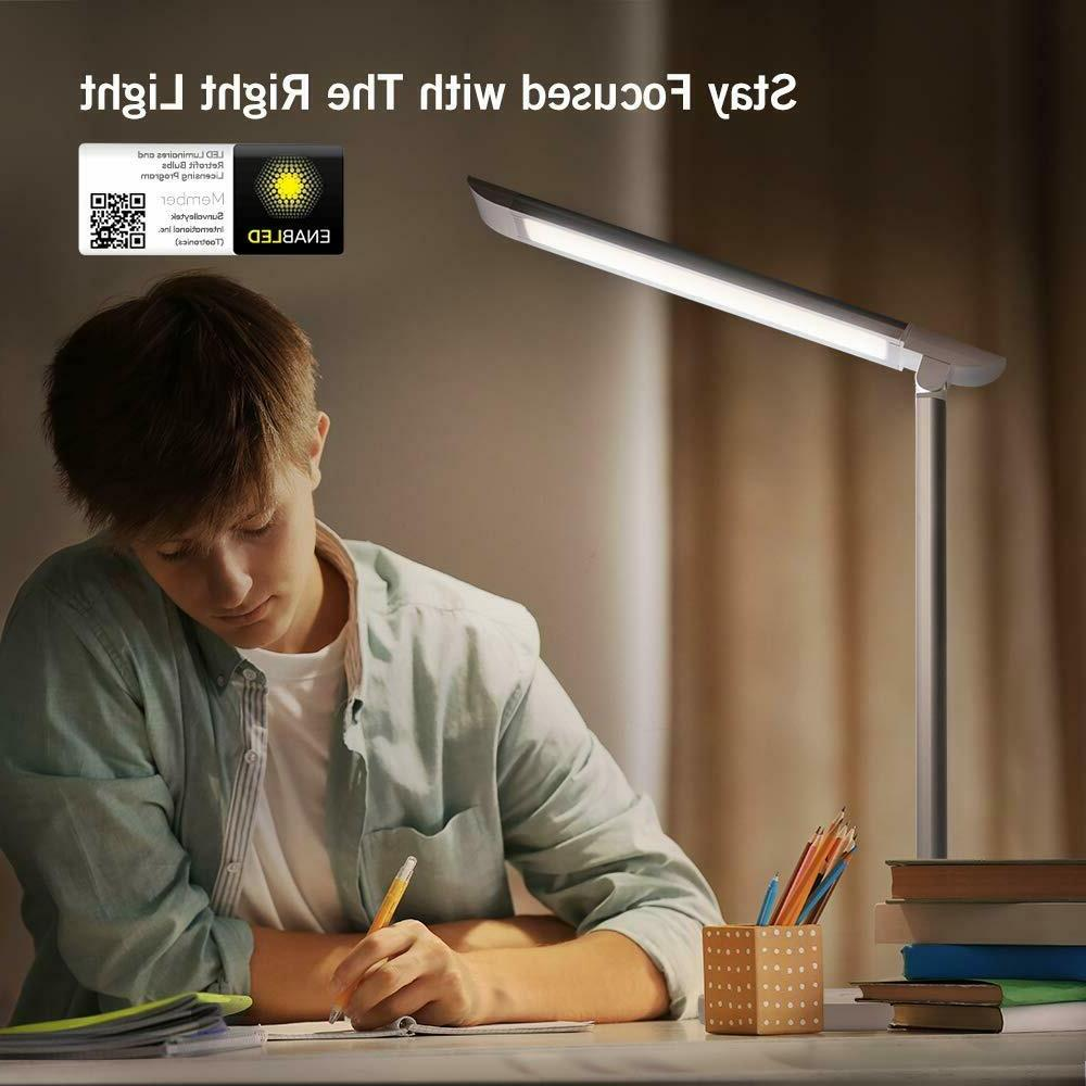 TaoTronics LED Desk Lamp, Eye-caring Table