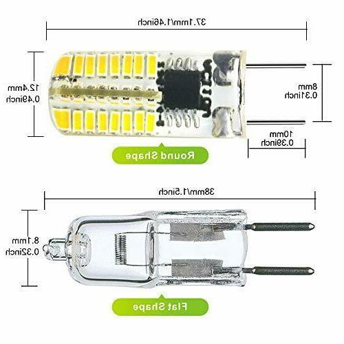 ZEEFO G8 LED Dimmable 3W White X 3014 SMD Energy