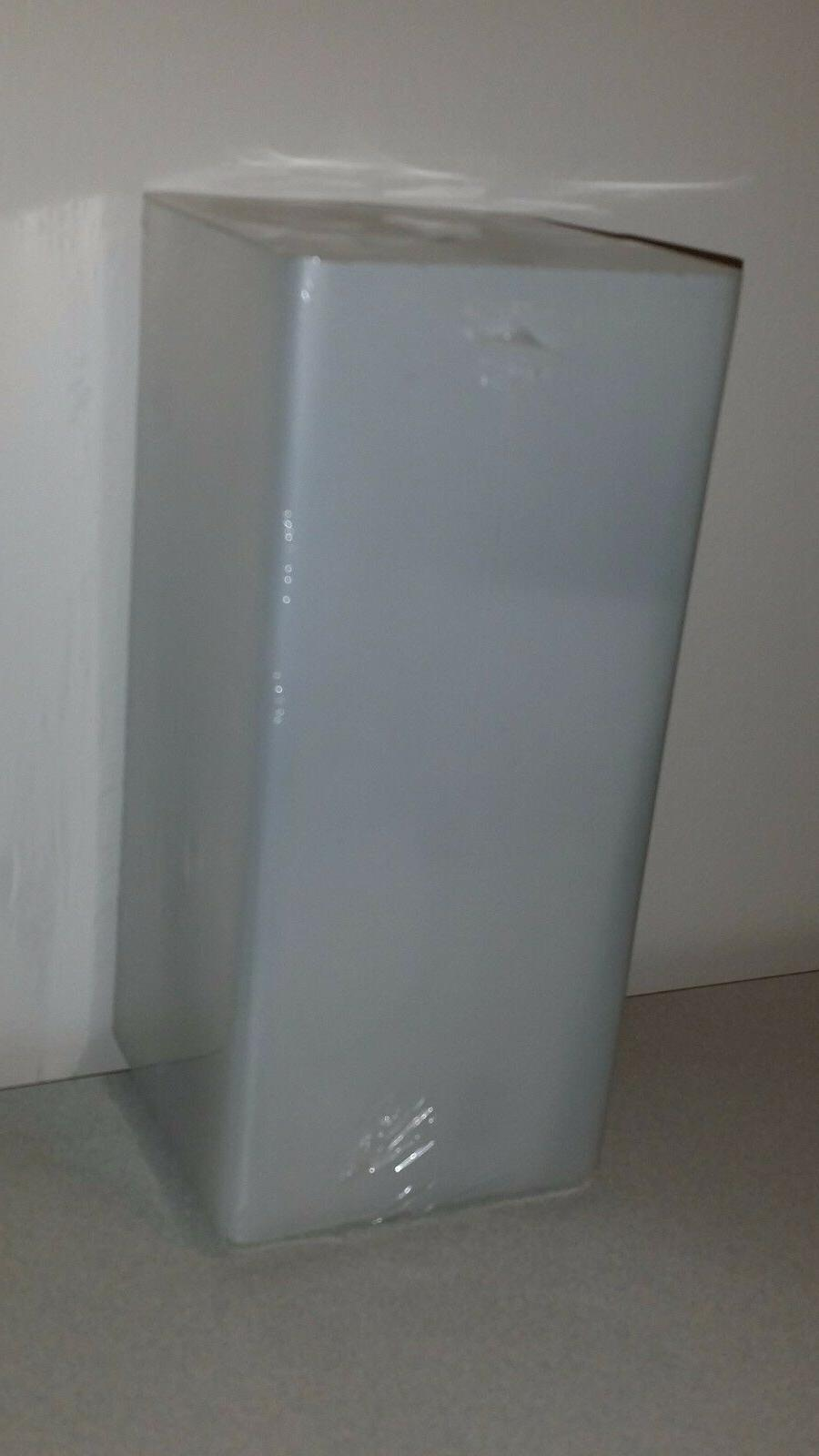 grono frosted glass table lamp brand new