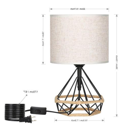 HAITRAL Table Lamps Minimalist Modern Basket Lamps