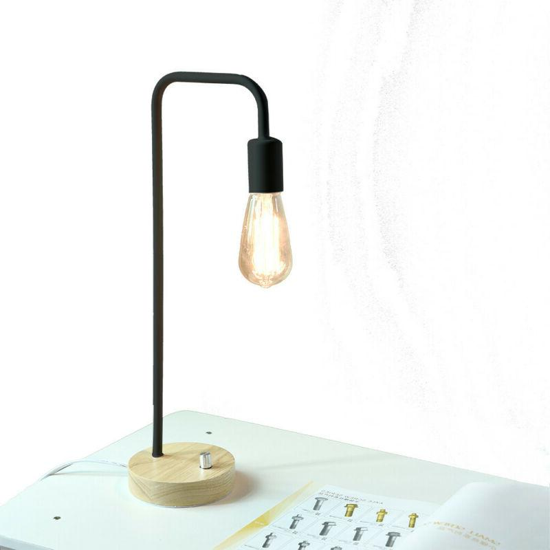 HAITRAL Industrial Table Lamp for Office, Living room