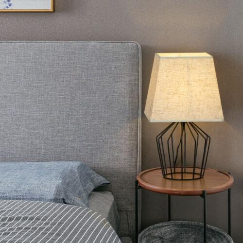 haitral table lamps modern basket cage style